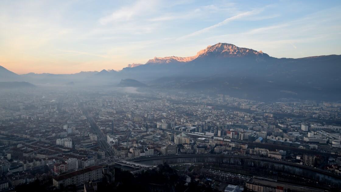 Un pic de pollution d'une durée exceptionnelle dans les Alpes