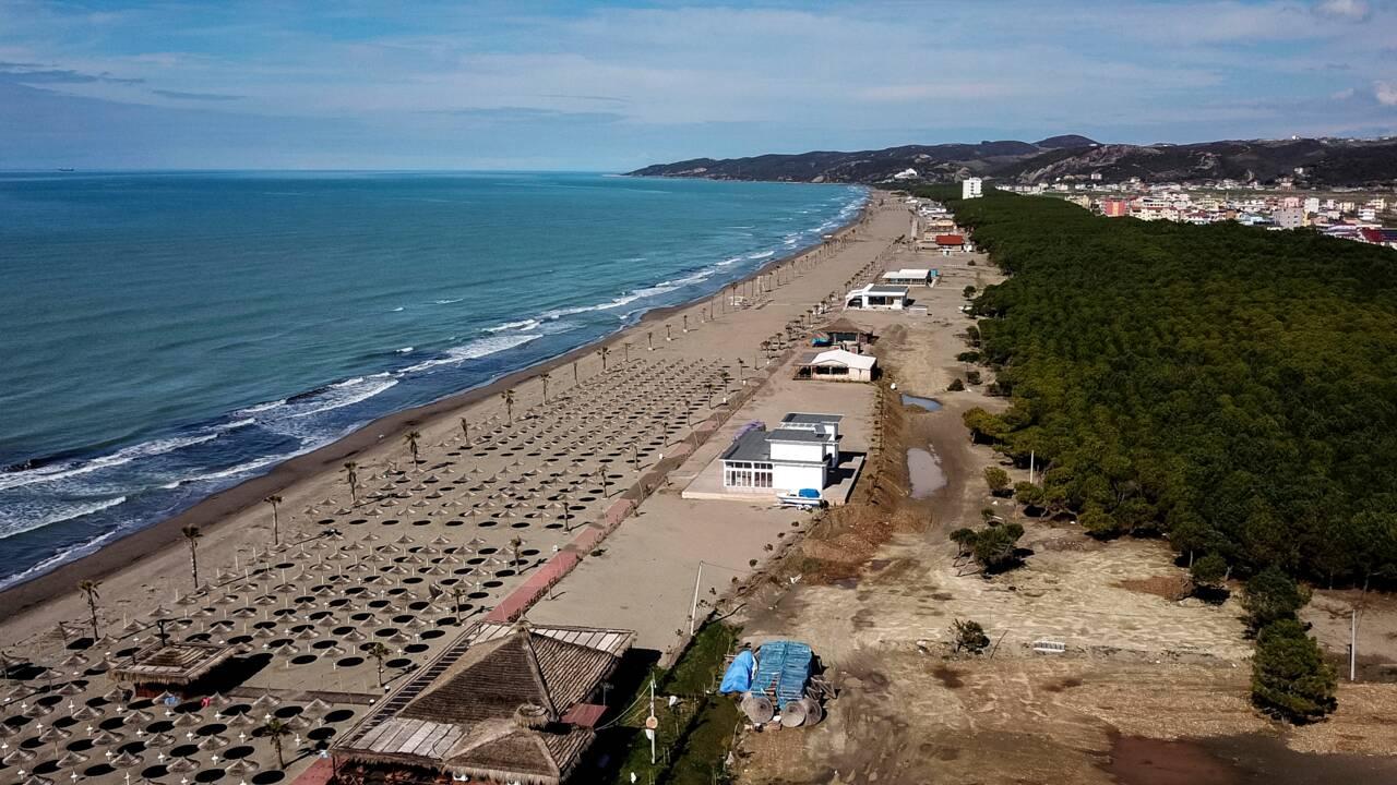 Albanie: razzia sur la côte
