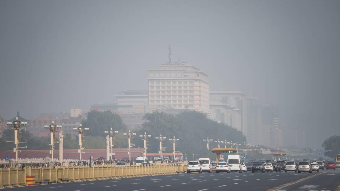 Pollution à Pékin: la qualité de l'air s'améliore en 2017