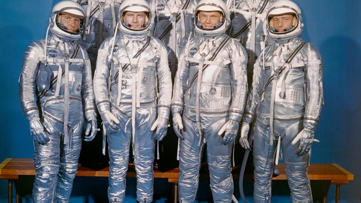 """Les """"Sept pionniers"""" des programmes spatiaux tous décédés"""