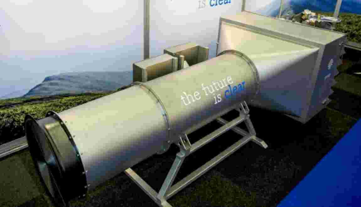 Pollution: des Néerlandais dévoilent un aspirateur à particules ultra-fines