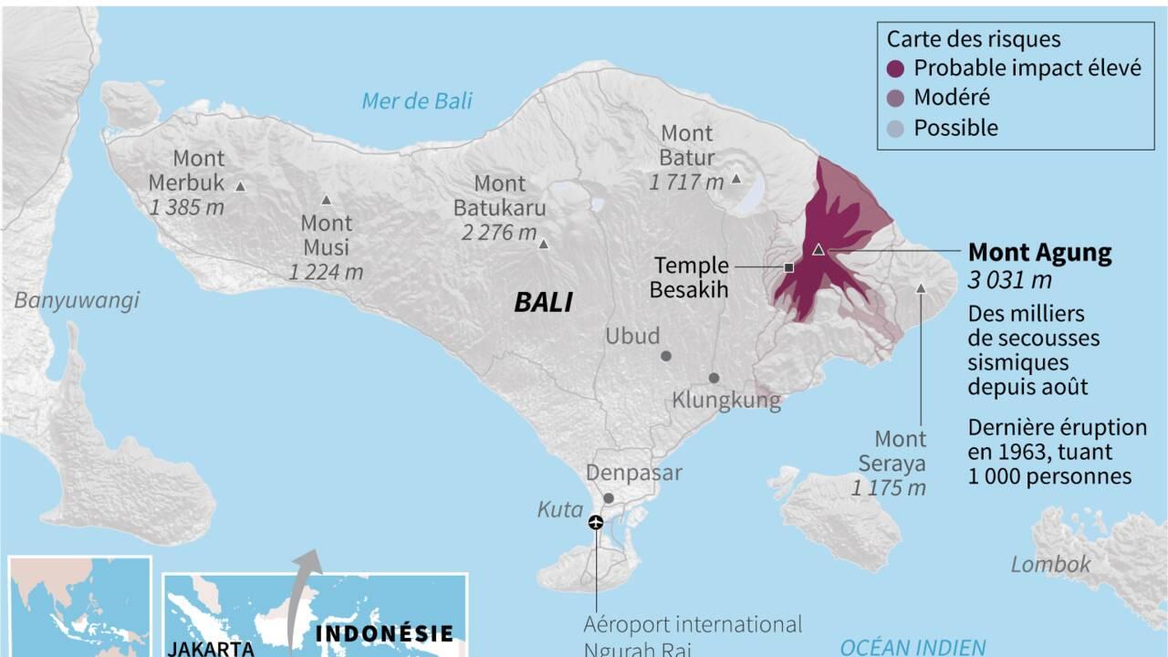 Le volcan à Bali ravive la mémoire des survivants de l'éruption de 1963