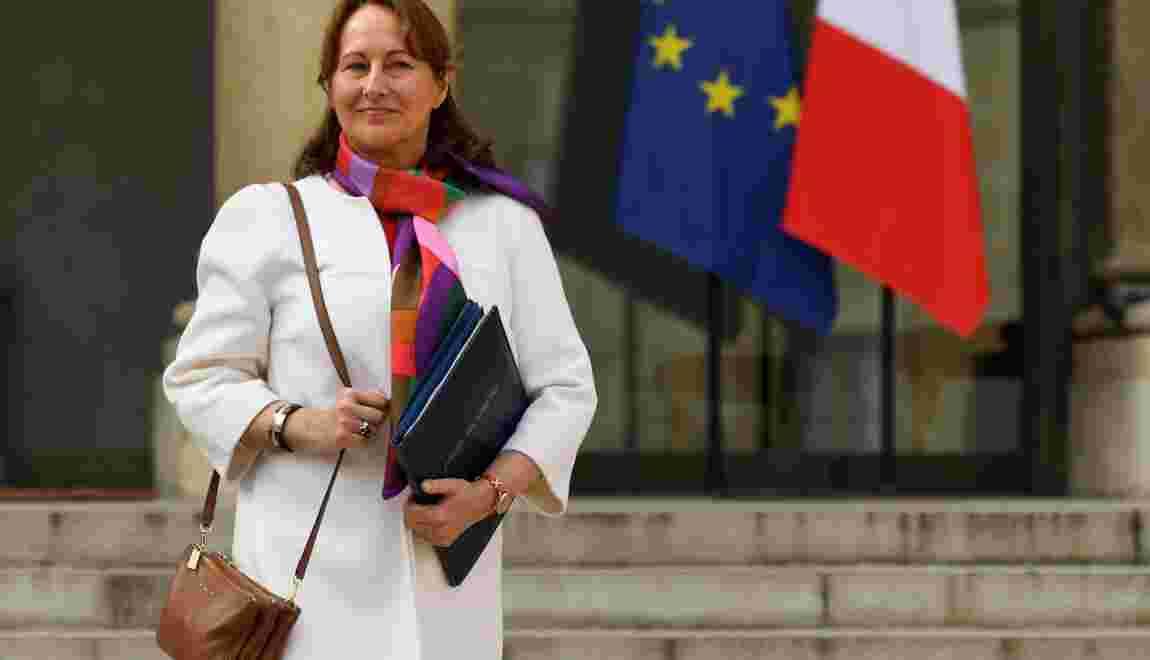 """Climat: Ségolène Royal dénonce un """"très grave délit contre l'humanité"""""""