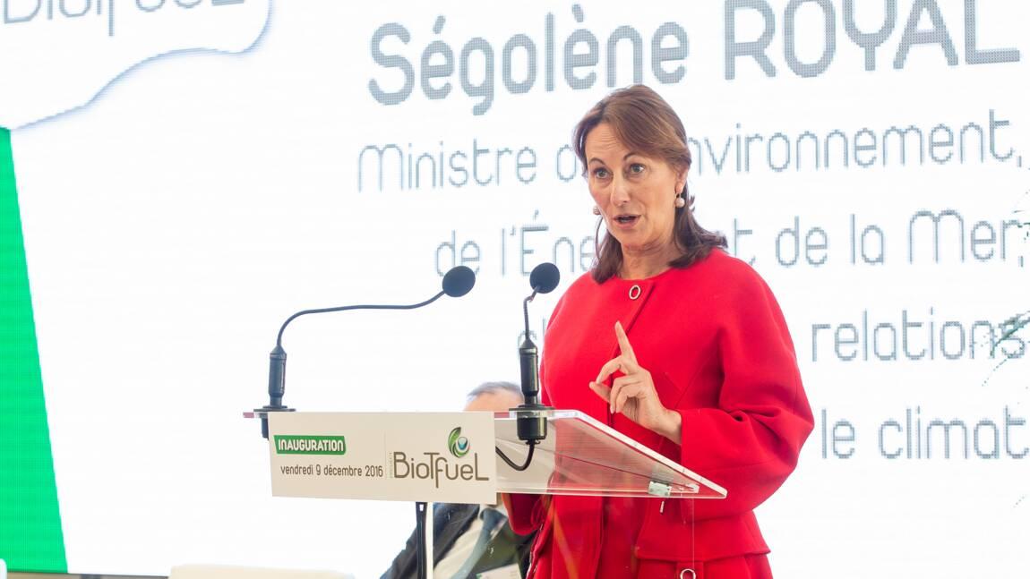 Ségolène Royal présente des mesures anti-pollution