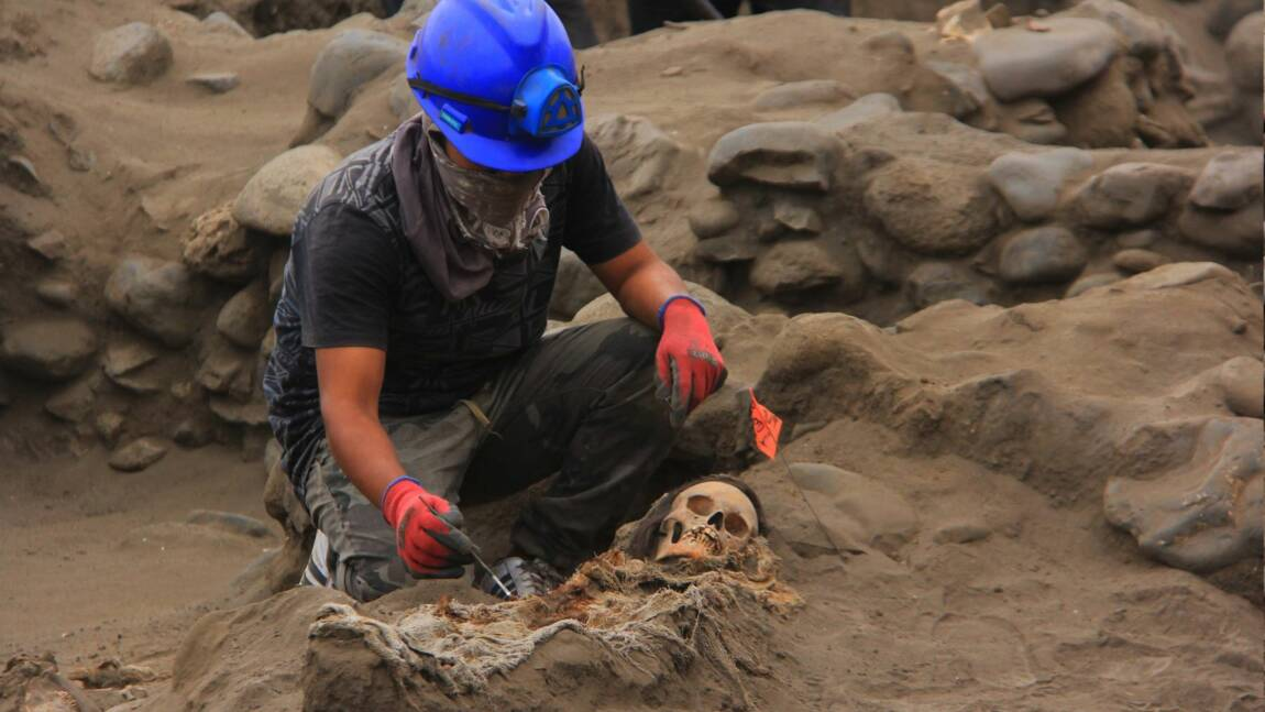Découverte d'un nouveau site de sacrifice rituel d'enfants au Pérou