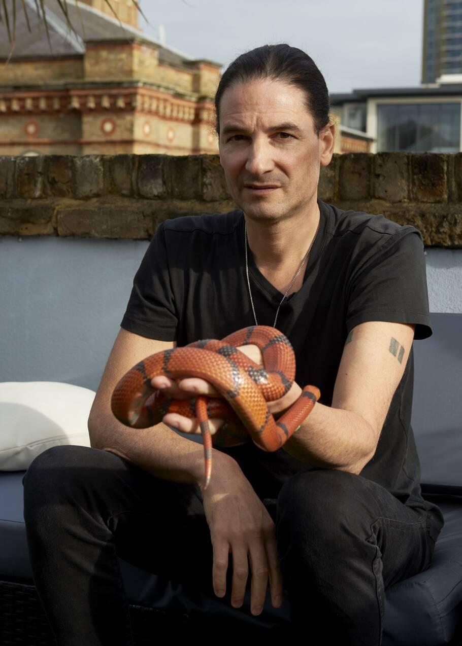 Steve Ludwin, l'homme qui s'injecte du venin de serpent depuis près de 30 ans