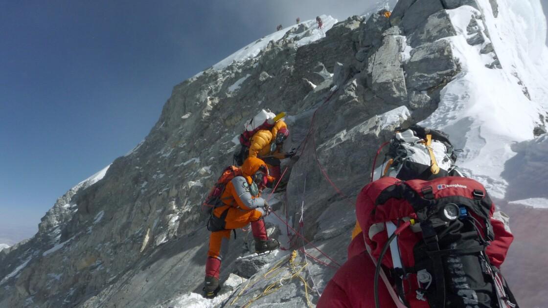 """Ultime difficulté de l'Everest, le """"ressaut Hillary"""" n'est plus"""