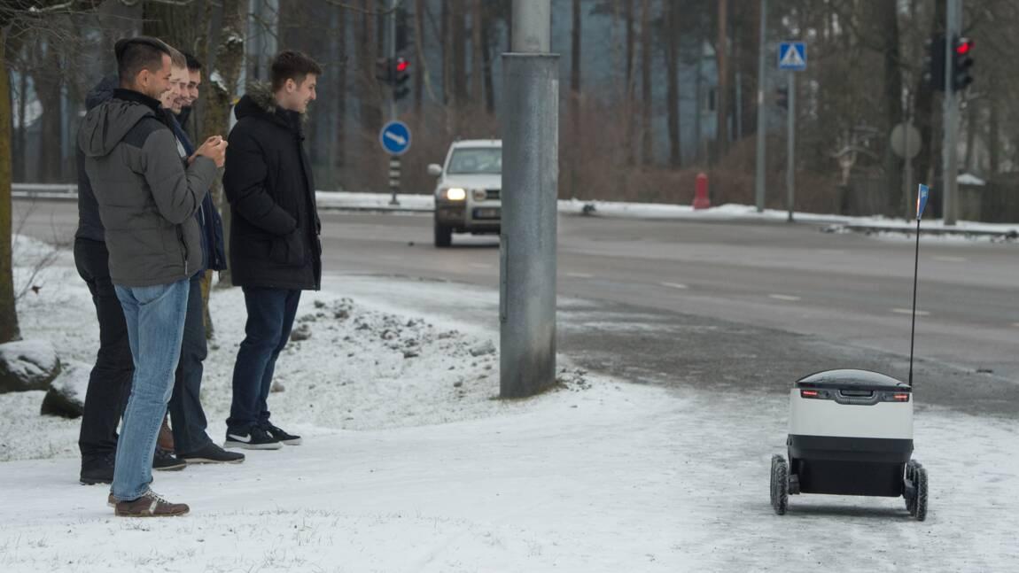 Traverser un carrefour: l'angoisse du robot estonien