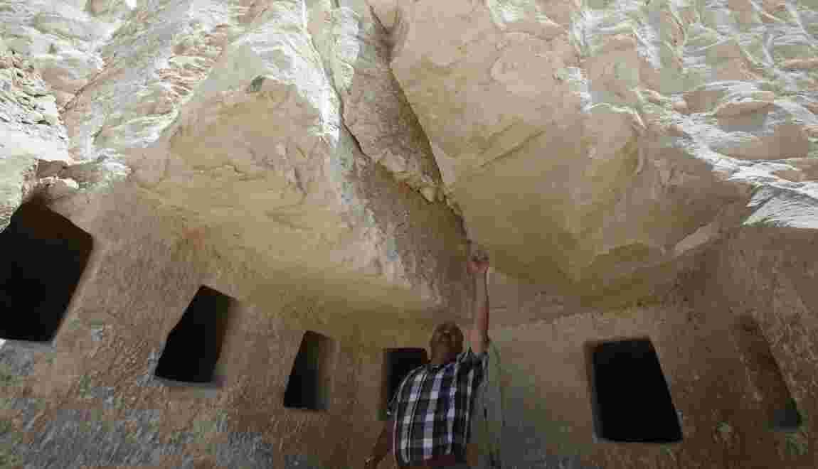 Des tombes de l'époque romaine découvertes dans un village palestinien