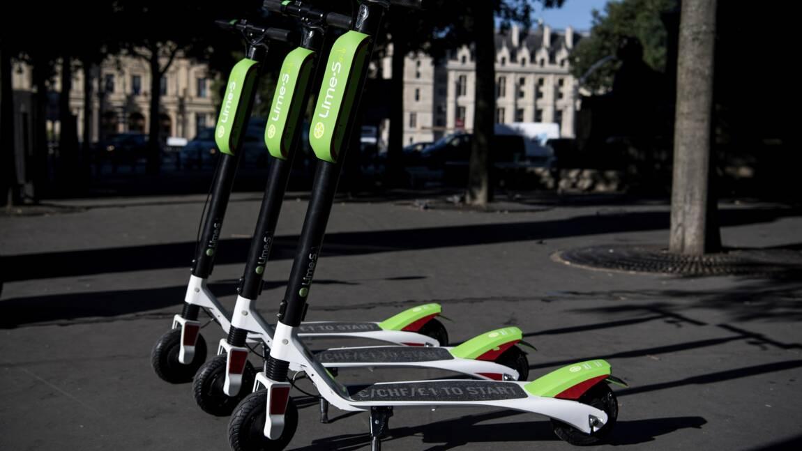 """Des trottinettes électriques en libre-service à Paris : """"Plus pratique que le métro ! """""""