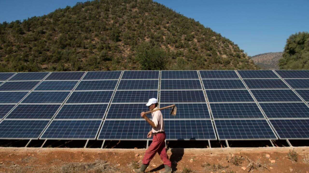 """Au Maroc, """"l'eau solaire"""" pour faire aider les paysans"""
