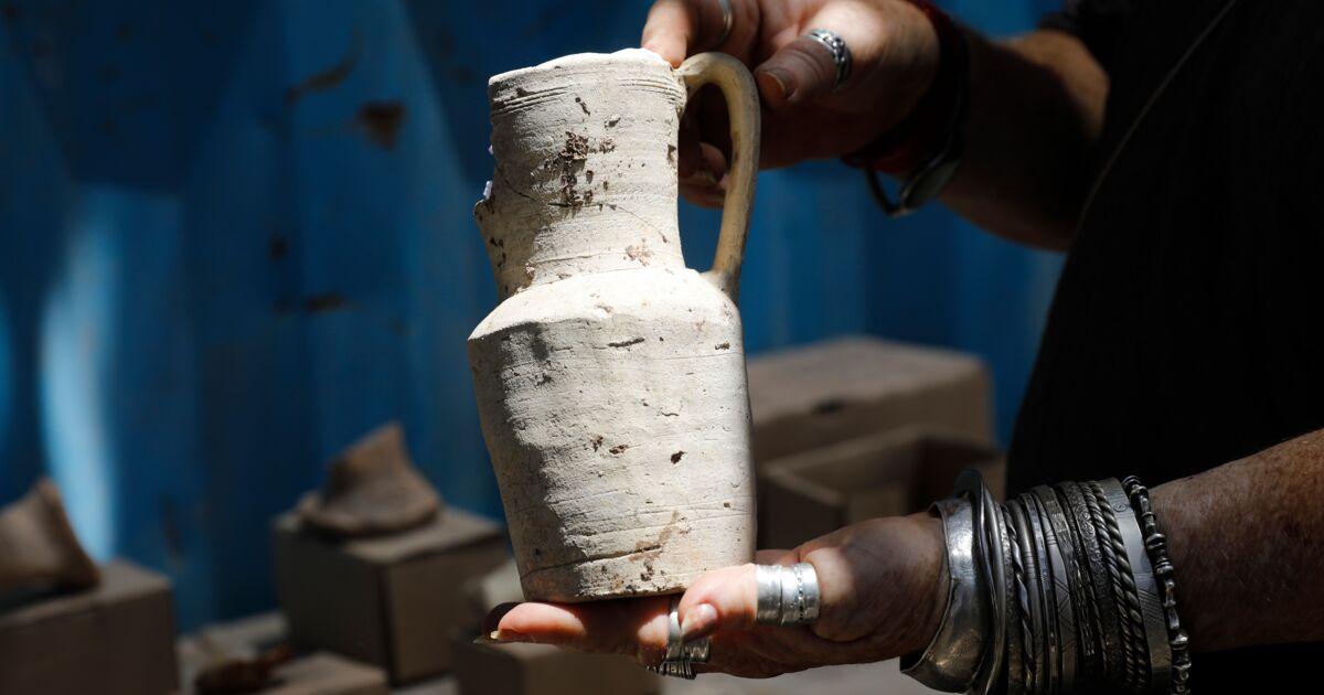 datant des fragments de poterie
