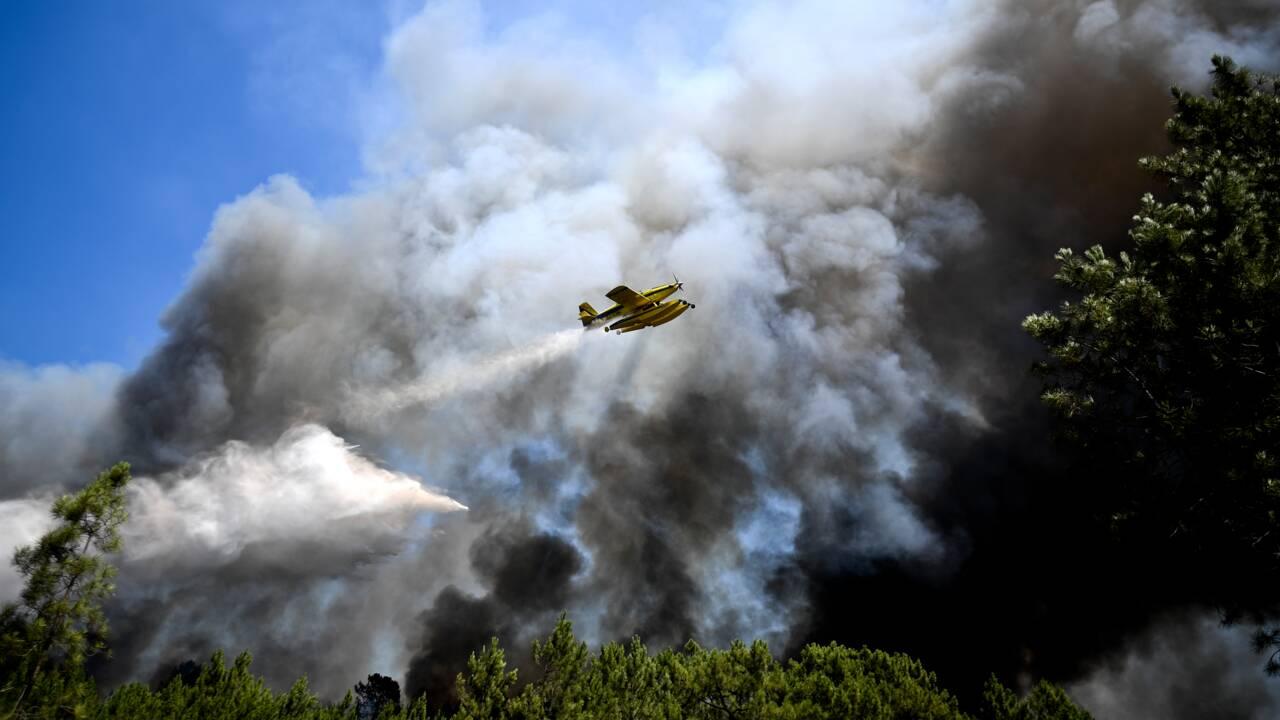 Portugal: les flammes ravagent toujours le centre du pays