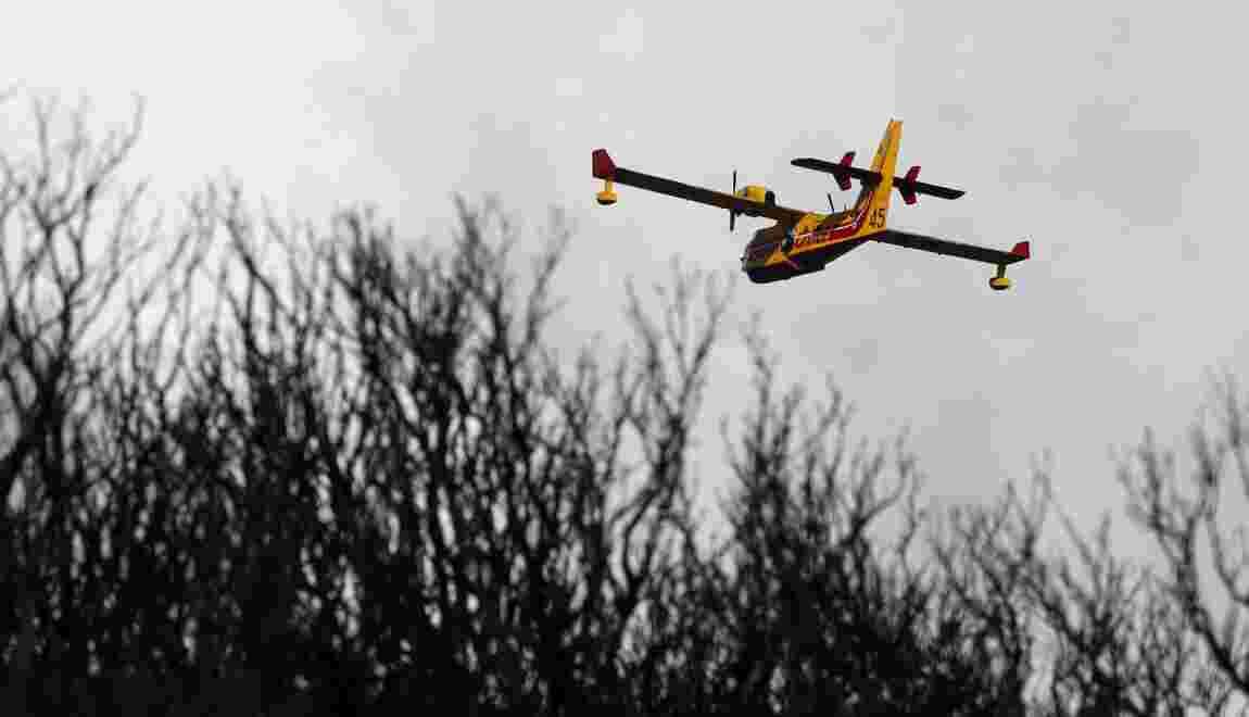 Feux en Corse: deux incendies stabilisés dans le Cap Corse et en Balagne