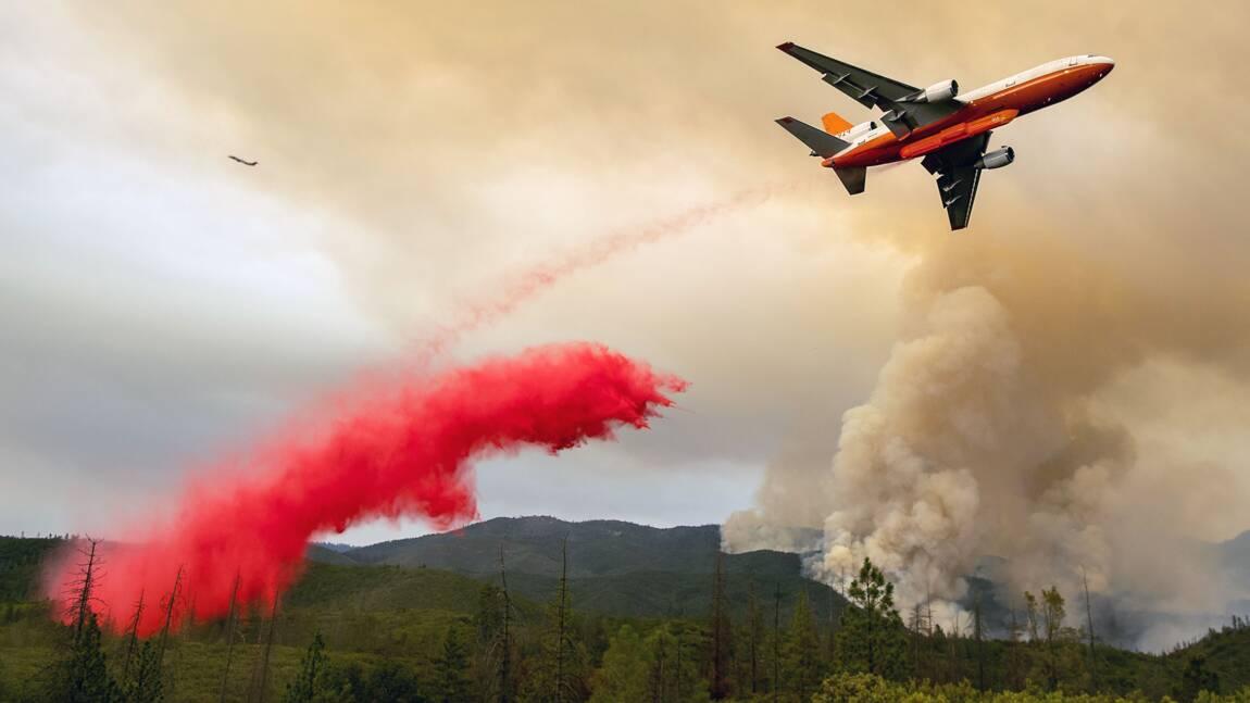 USA: l'incendie près du parc de Yosemite s'étend