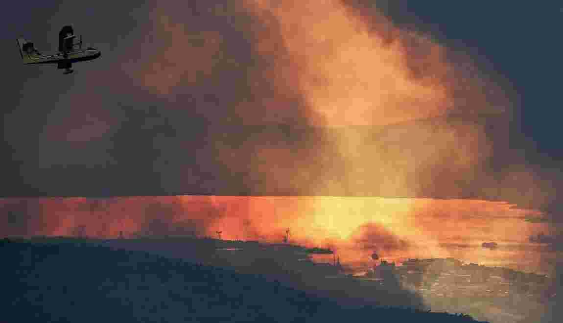Les feux de forêt continuent à faire rage en Croatie et au Monténégro