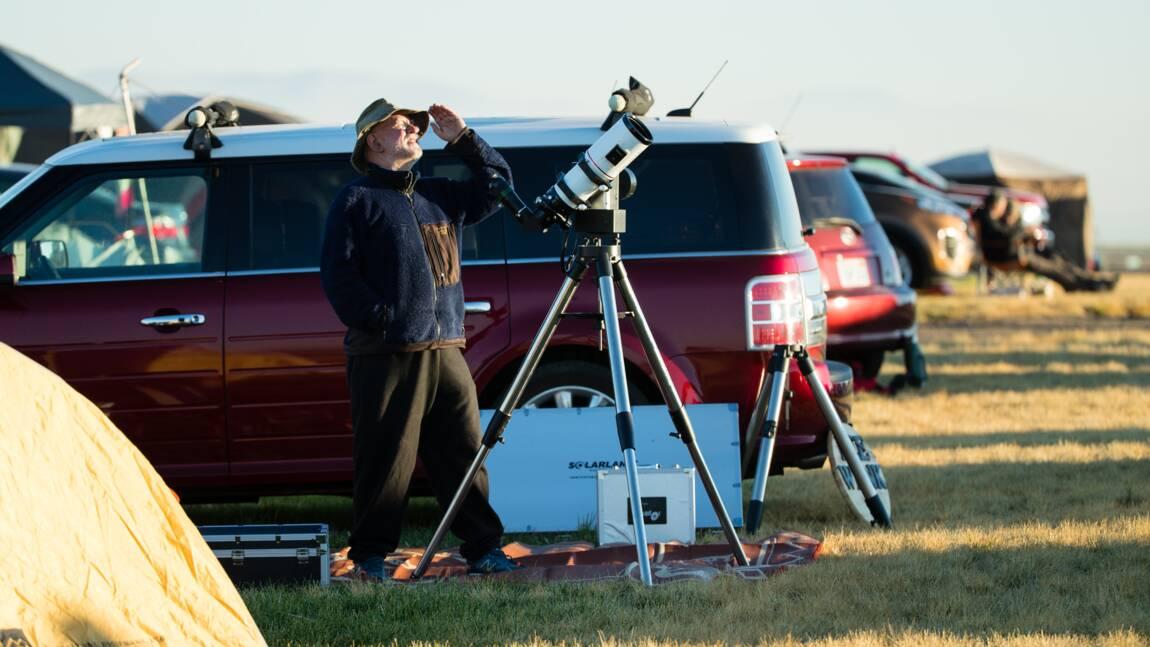 Aux Etats-Unis, l'infinie quête des chasseurs d'éclipse