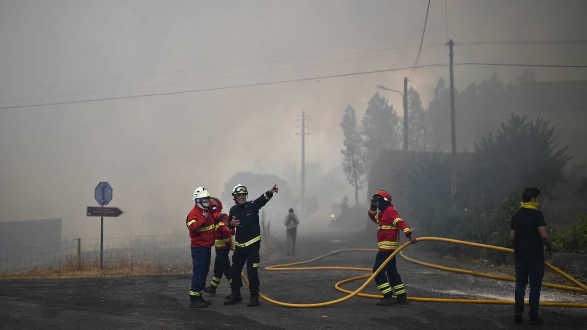 Les feux de forêt prennent de l'ampleur au Portugal