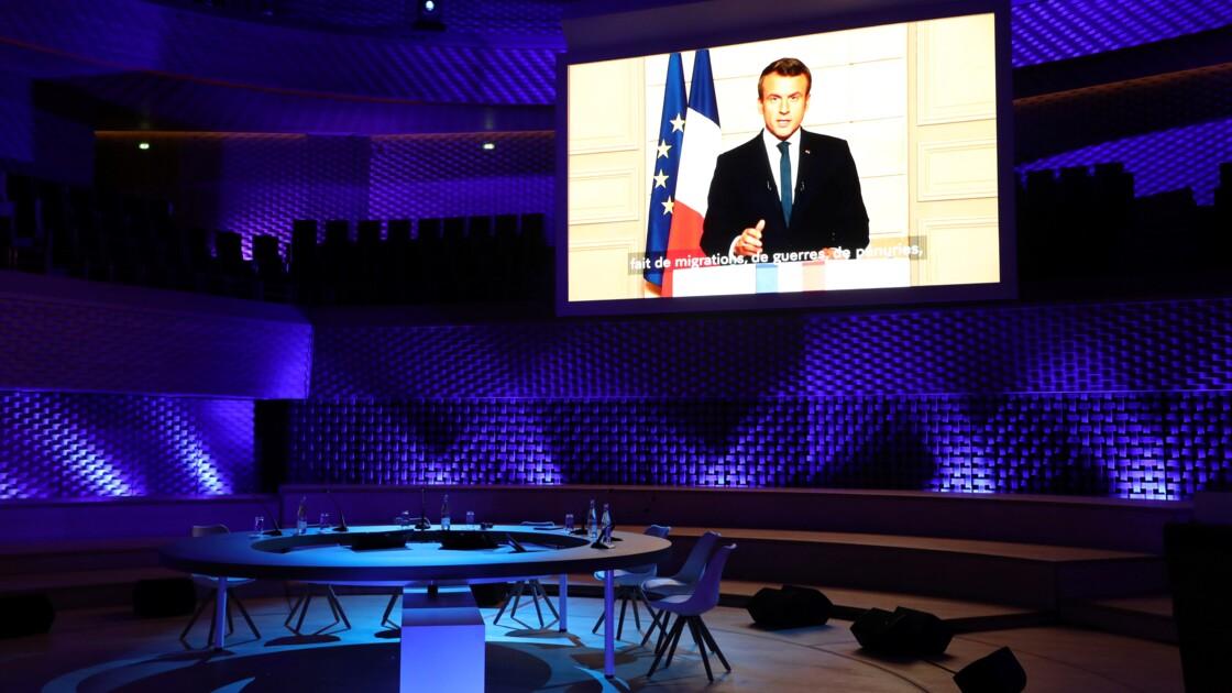 """Climat: Macron appelle à """"une mobilisation beaucoup plus forte"""""""