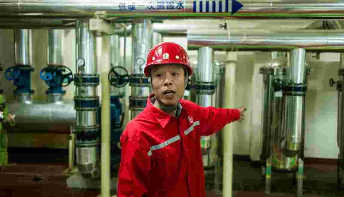 Chine: pomper la chaleur de la terre, défi d'un géant du pétrole