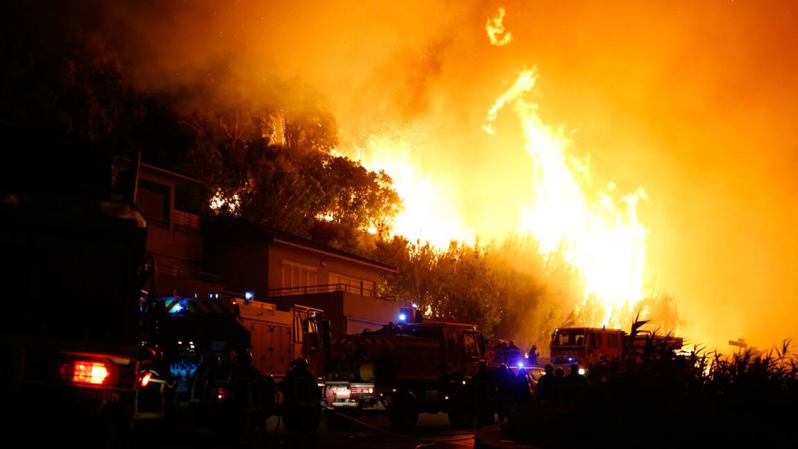 Le Sud-Est de la France en proie à des incendies violents