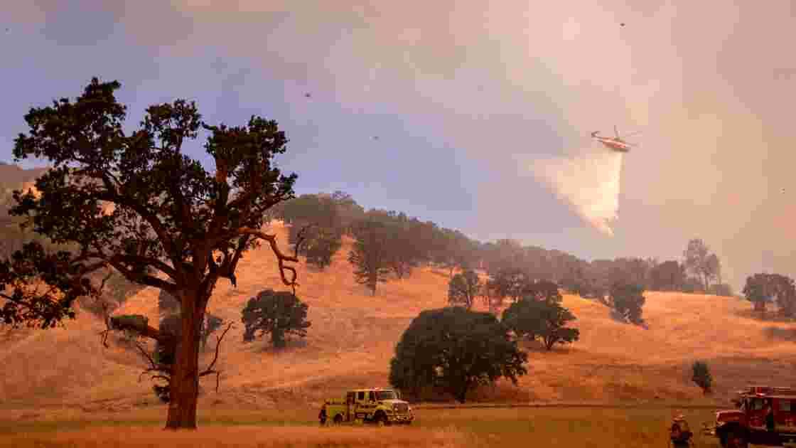 L'Ouest américain en proie à une canicule record et des incendies massifs