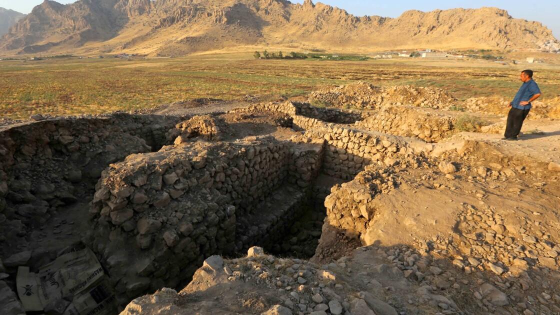 """Au Kurdistan irakien, un site archéologique """"exceptionnel"""" soudain déserté"""