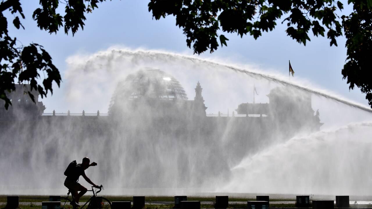 Records de chaleur et incendies en Europe