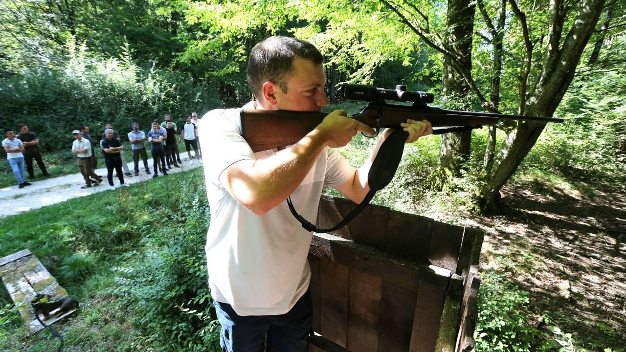 """Au domaine de Belval, les nouveaux chasseurs formés à une chasse """"responsable"""""""