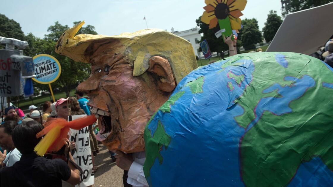 Climat: le président de la COP23 appelle Trump à rester dans le jeu