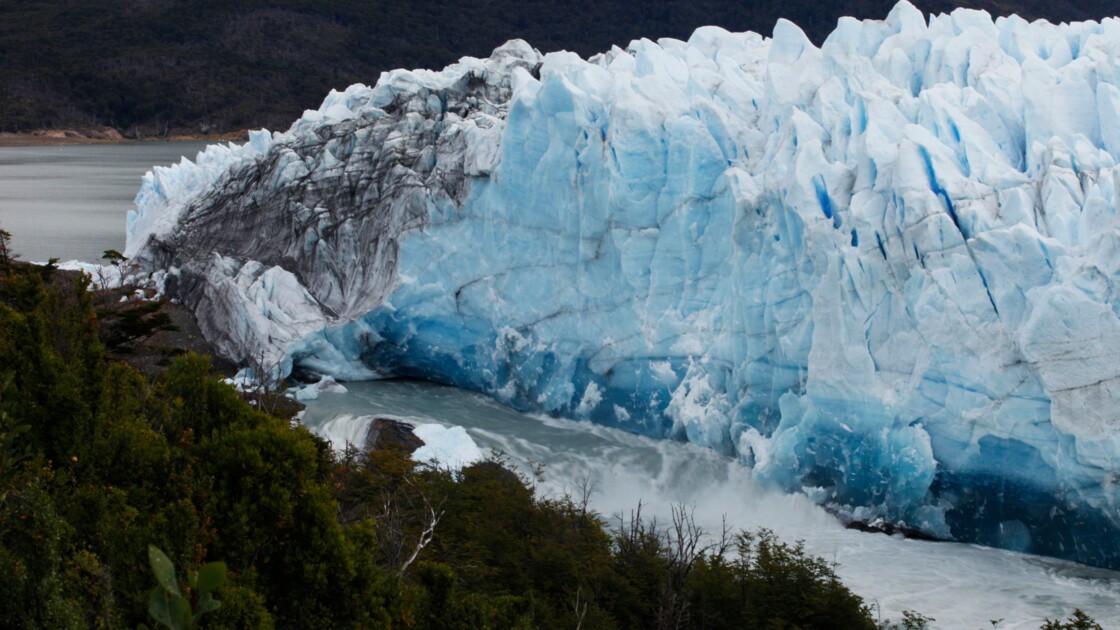 Argentine : l'arche du Perito Moreno sur le point de se rompre