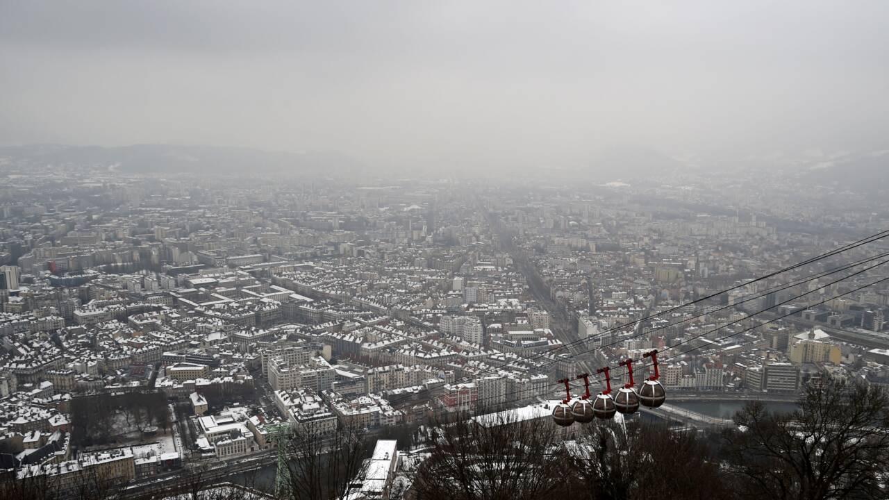 Pollution à Grenoble: restrictions de circulation maintenues samedi