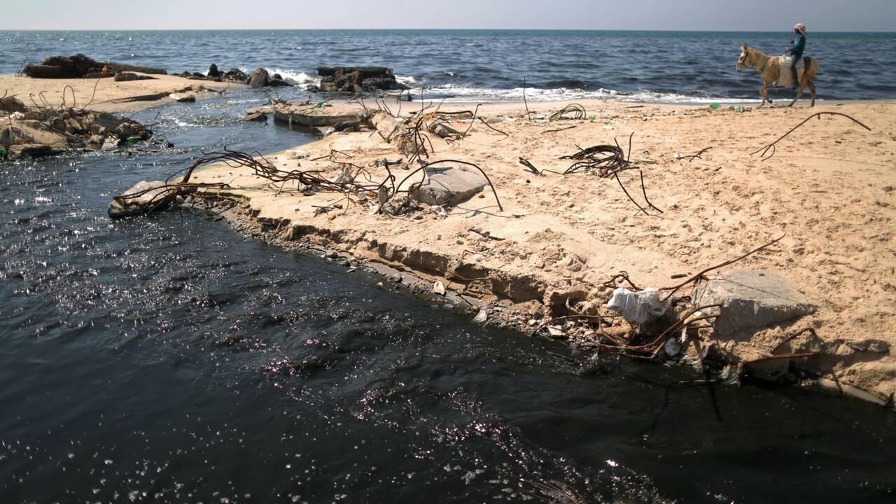 A Gaza sous blocus, la pollution tue à la sortie du bain de mer