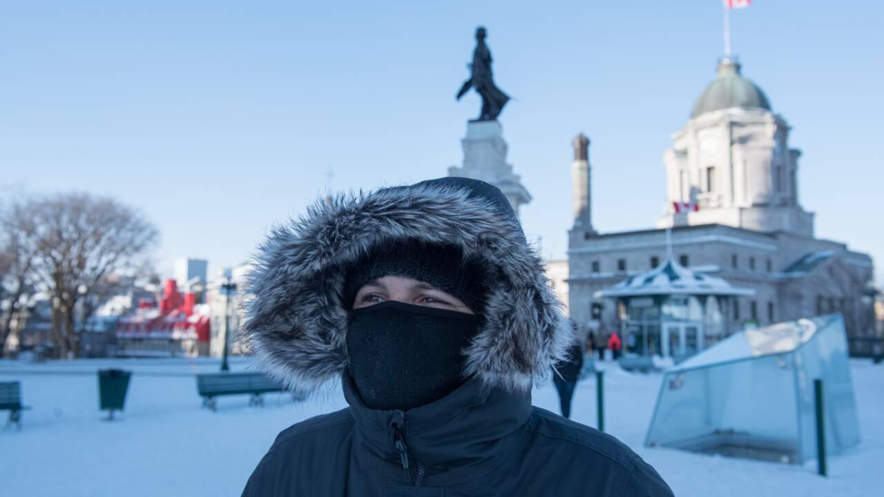 Froid extrême au Canada: festivités annulées, remontées de ski fermées