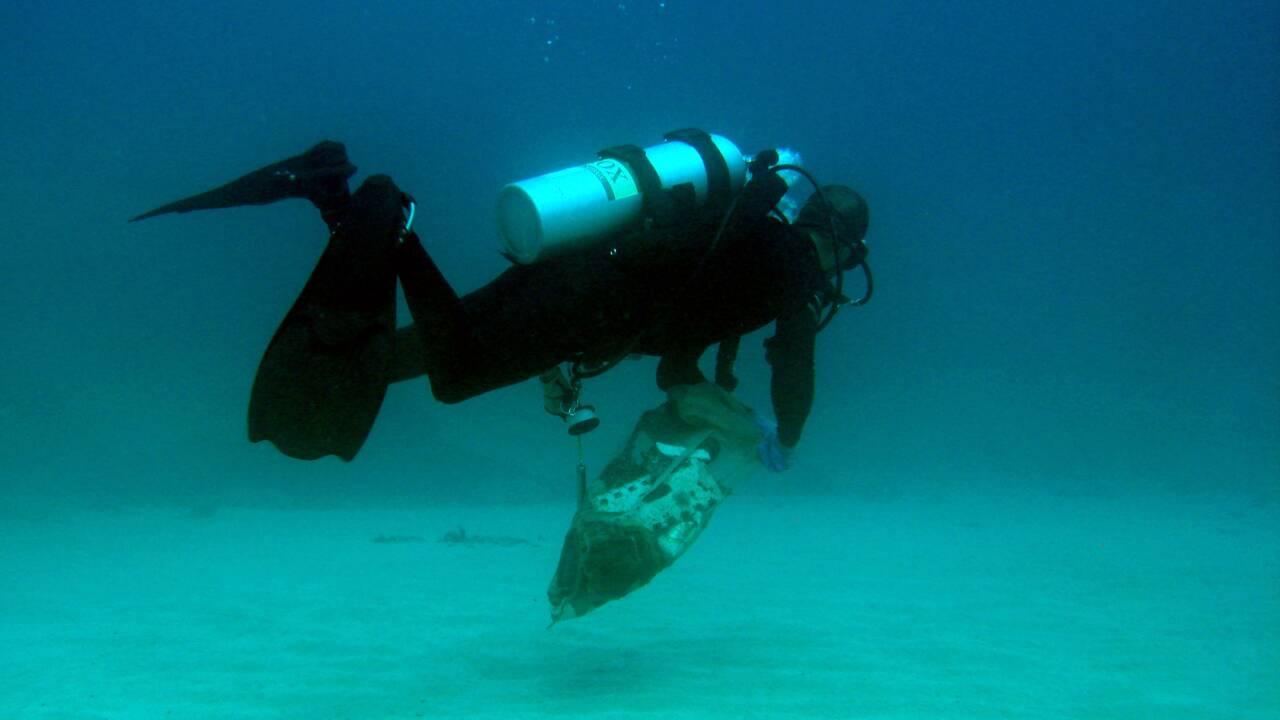 Plongée sous-marine et recyclage pour sauver le Liban de ses déchets