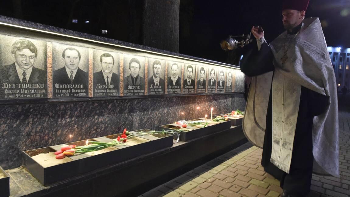L'Ukraine marque le 32e anniversaire de la catastrophe de Tchernobyl