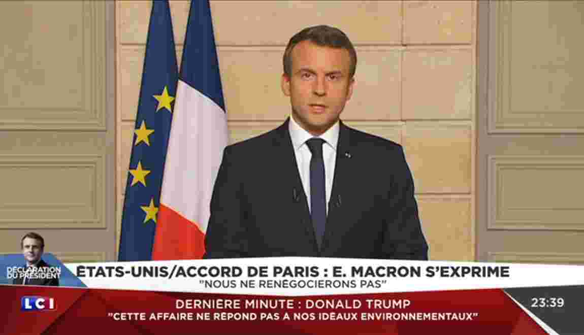 """L'invitation de Macron aux scientifiques américains est """"un message très fort"""""""