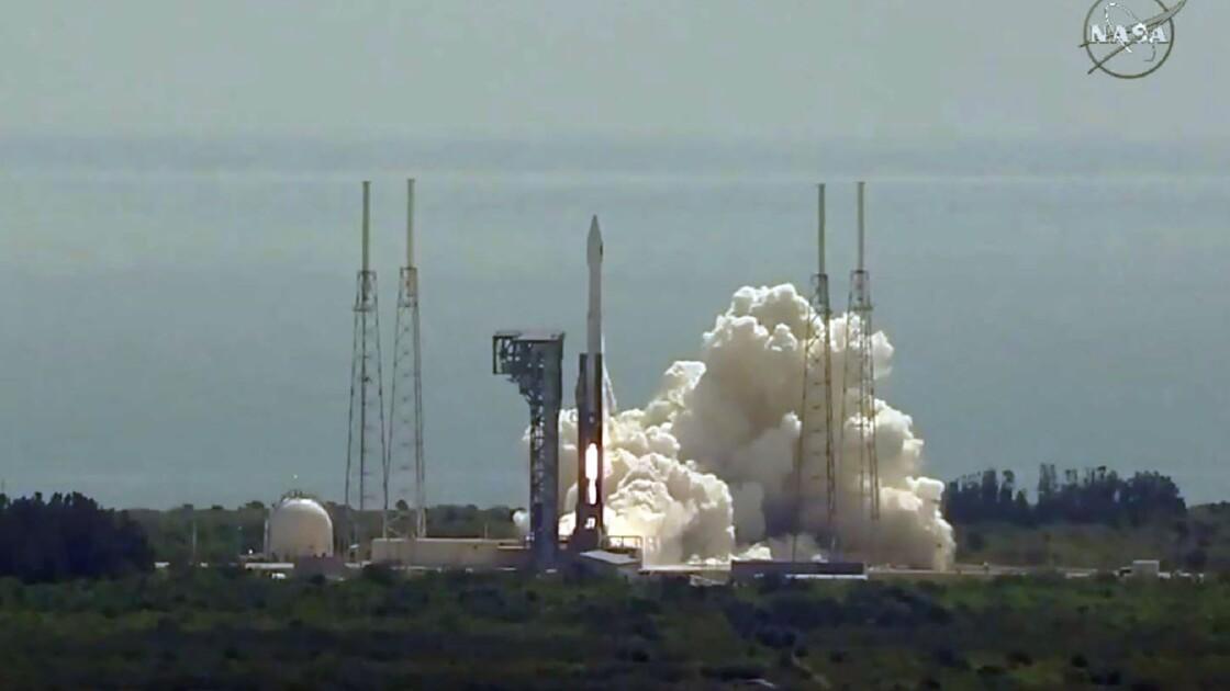 Orbital ATK a lancé sa capsule Cygnus d'approvisionnement de l'ISS