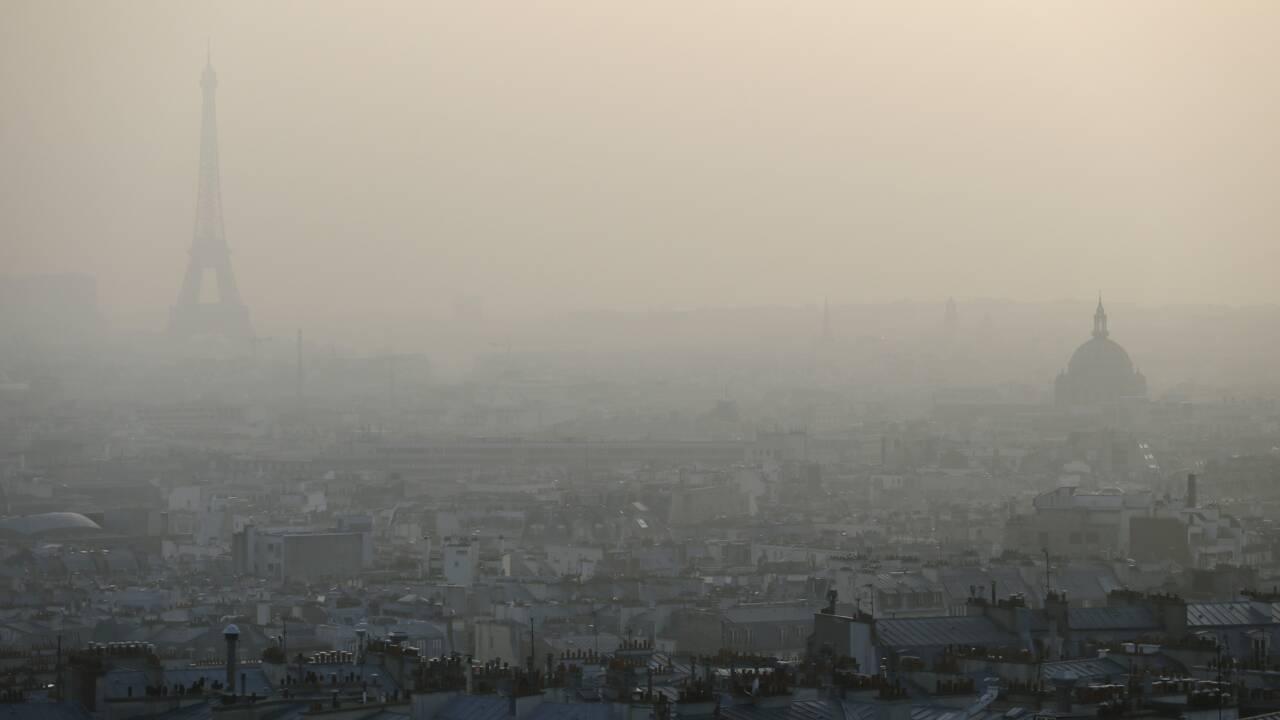 Pollution de l'air: l'Etat attaqué en justice par une Parisienne