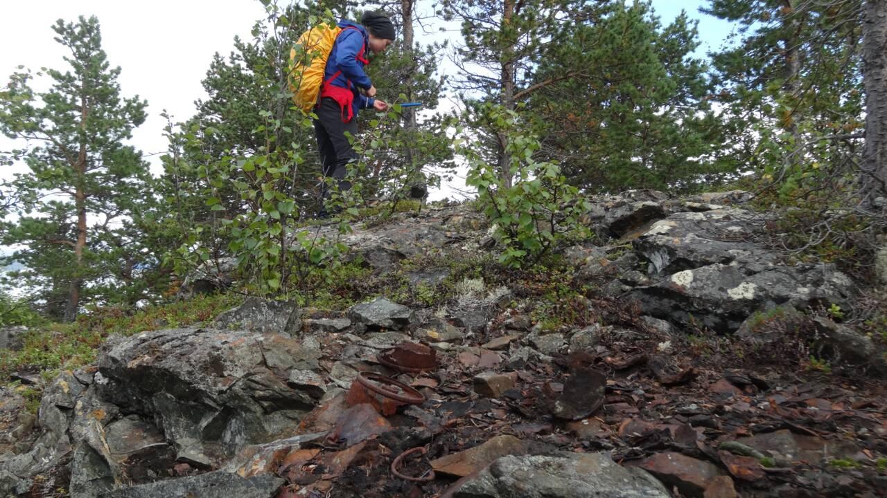Des arbres racontent le combat à mort d'un cuirassé allemand