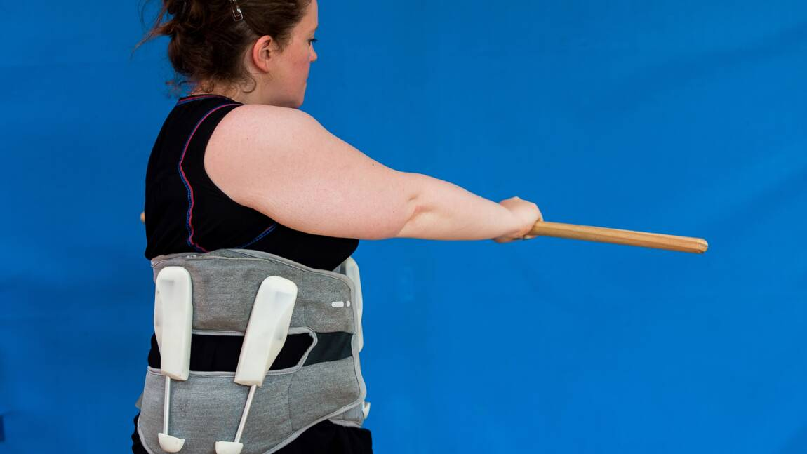 Un exosquelette prometteur contre le mal de dos testé à Lille