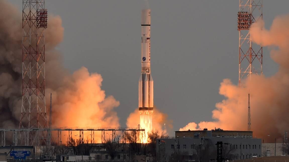 La Russie lance avec succès une fusée Proton avec un satellite américain