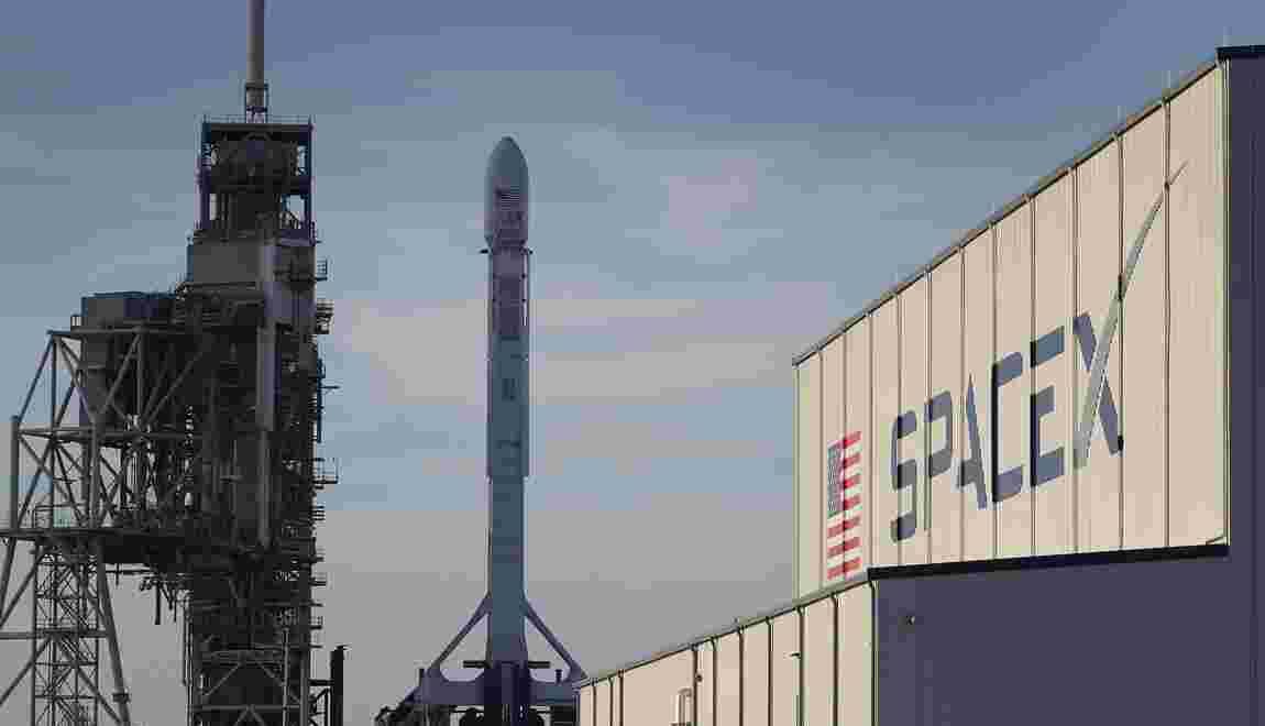 SpaceX envoie un cargo spatial avec une fusée déjà utilisée, une première
