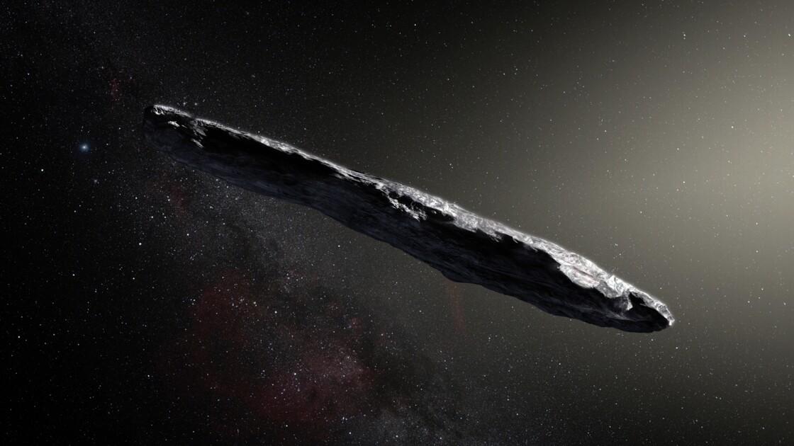 Un astéroïde détecté en octobre est bien un visiteur d'un autre système solaire