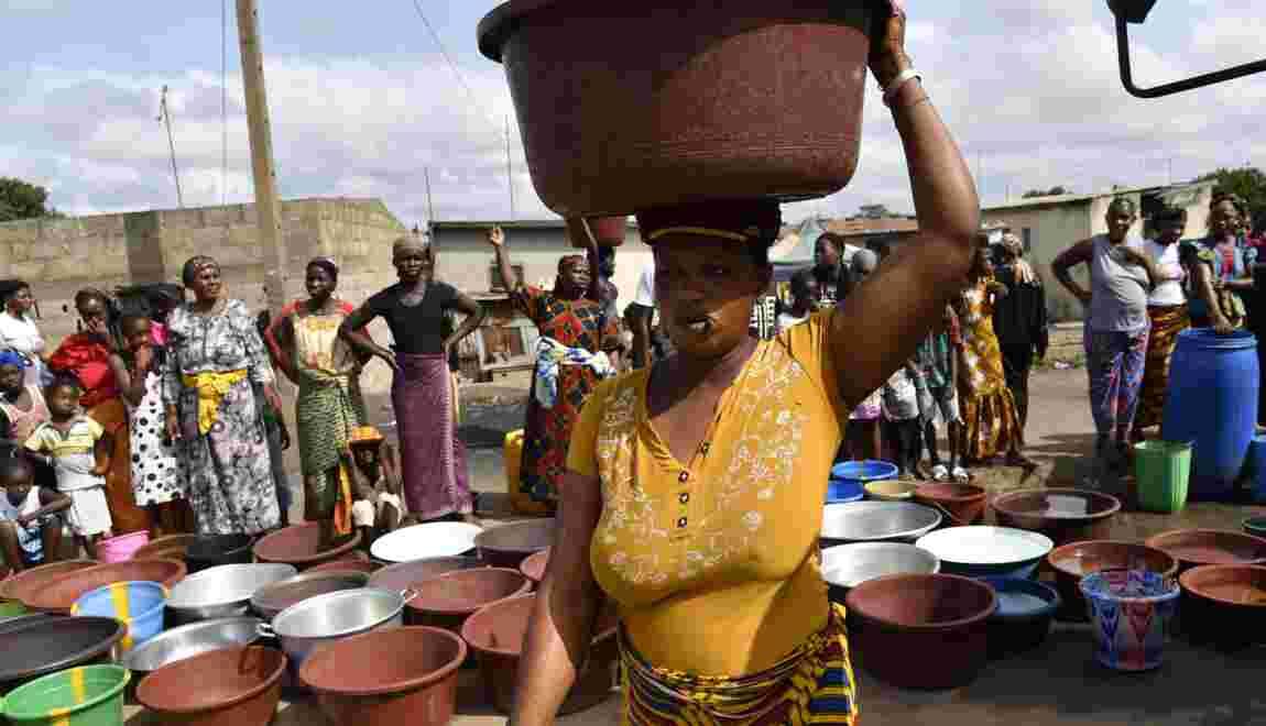Une vie sans eau dans la deuxième ville de Côte d'Ivoire