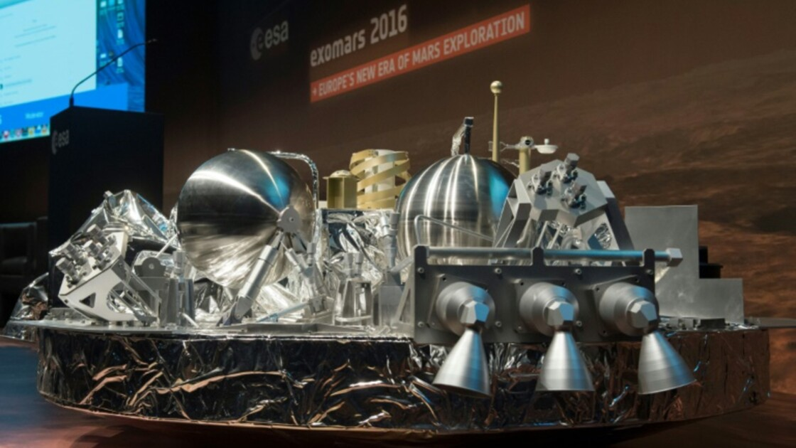 Crash du module européen sur Mars: un logiciel de navigation en cause