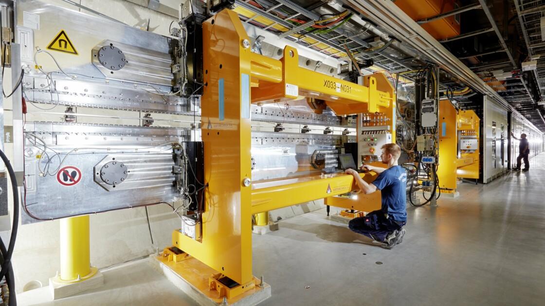 European XFEL, le super-laser européen à rayons X, en chiffres