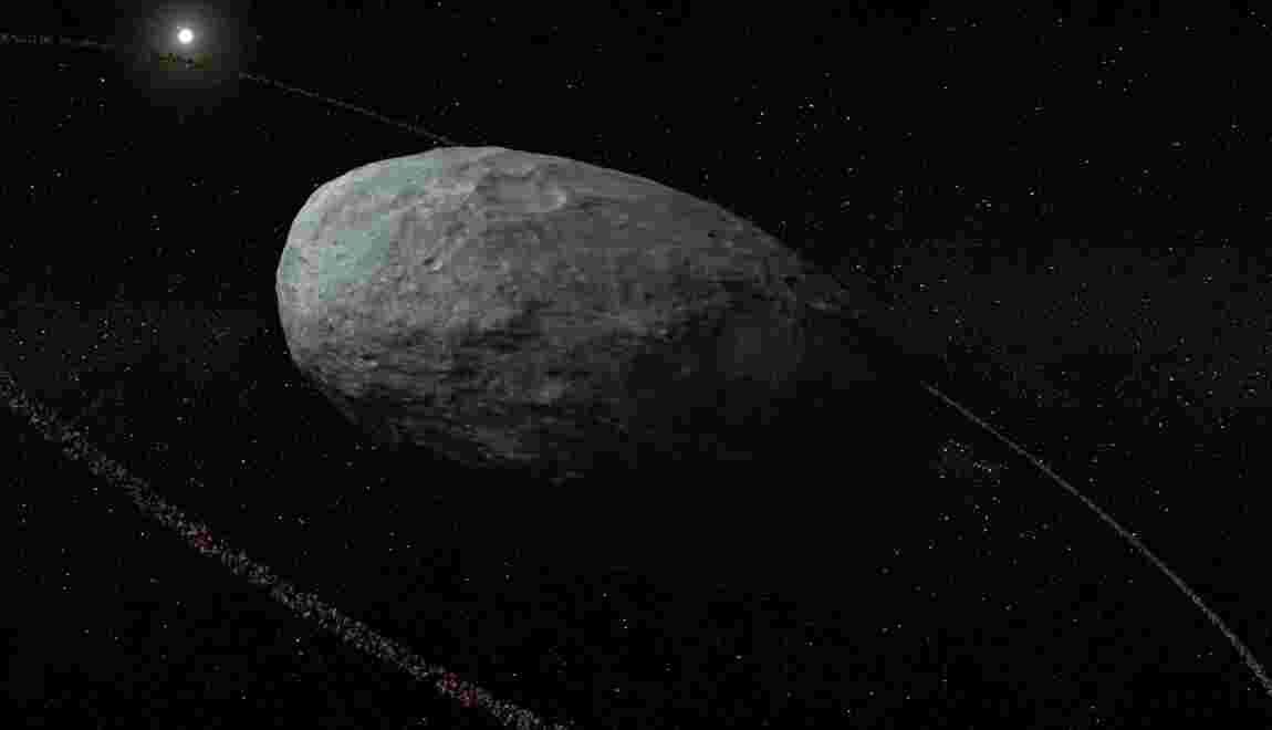 Les petites planètes lointaines aussi peuvent se parer d'anneaux