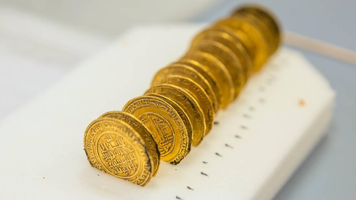 """Un trésor médiéval """"exceptionnel"""" découvert à l'abbaye de Cluny"""
