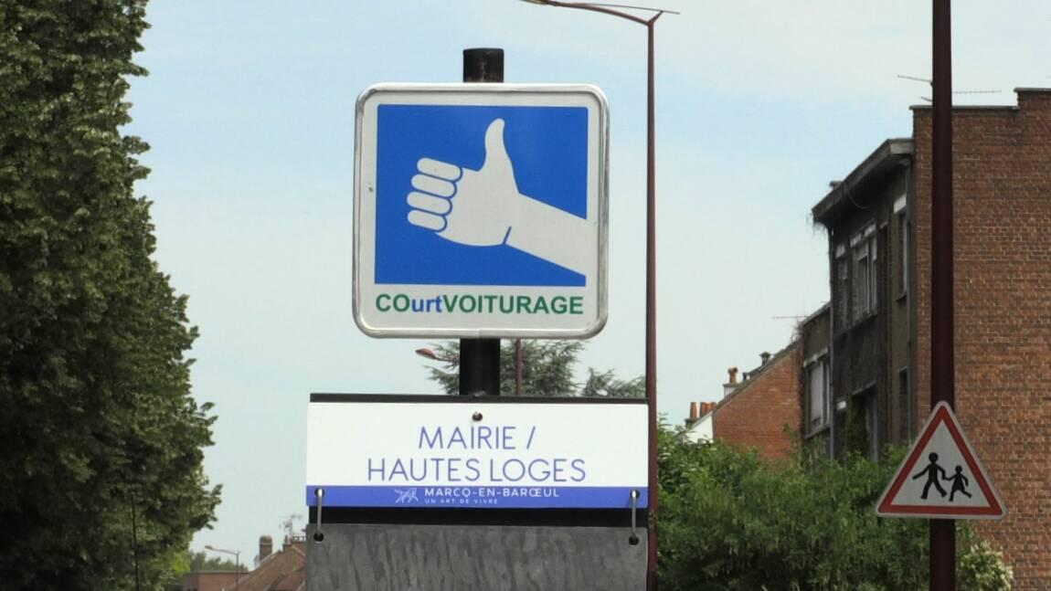 """Près de Lille, le """"court-voiturage"""" pour faciliter les déplacements en ville"""